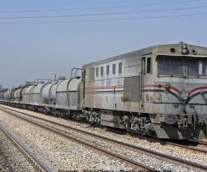 """تعطل حركة قطارات """"القاهرة ـ الإسكندرية"""" عقب خروج عربة عن القضبان فى طنطا"""