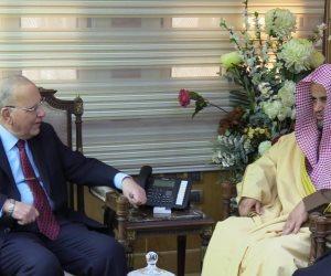 لماذا استقبل وزير العدل المصري النائب العام السعودي؟ (صور)