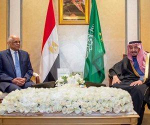 خادم الحرمين لـ«عبدالعال»: السعودية تدعم مسيرة التنمية في مصر