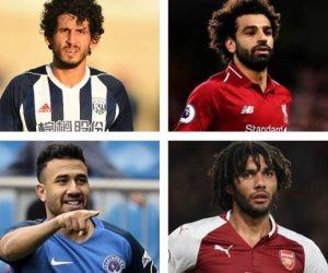 حصاد المحترفين المصريين في الملاعب الأوروبية: محمد صلاح يواصل الغياب
