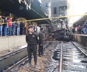 سائق القطار المحترق بمحطة مصر: «أنا أخطأت آسف على تقصيري .. وأتمنى من الجميع أن يسامحني»