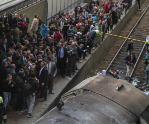 الأزهر الشريف ينعى ضحايا اصطدام قطار بأحد الأرصفة في محطة رمسيس