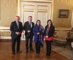 نائب رئيس البوندستاج الألماني: لدينا رغبة قوية لتوطيد العلاقات مع البرلمان المصري