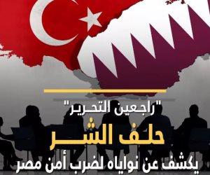 """""""راجعين التحرير"""" .. حلف الشر يكشف عن نواياه لضرب أمن مصر (فيديوجراف)"""