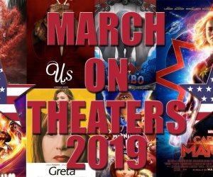أعمال سينمائية تدخل دور العرض في العشر الأوائل من مارس