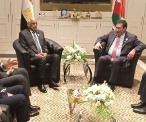 عبد العال يسلم رئاسة الاتحاد البرلماني العربي إلى نظيره الأردني