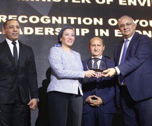 Business Today تكرم الدكتورة ياسمين فؤاد وزيرة البيئة بحفل BT100