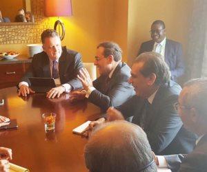 مصر على طريق الثروة.. تفاصيل مباحثات وزير البترول مع 4 رؤساء شركات ووزير الطاقة الأمريكي