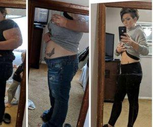 قصة صورة أفقدت صاحبتها 83 كيلو جرام في 12 شهرا