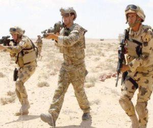 أنشطة مكثفة للتدريب المشترك المصري البريطاني «أحمس- 1»