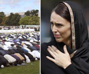 نيوزيلندا كلها مع المسلمين.. تضامن شعبي في صلاة الجمعة بحضور رئيسة الوزراء (صور)