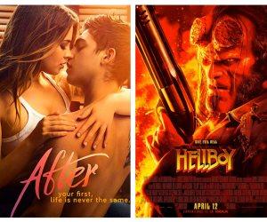 أفلام تدخل دور العرض: الوجه الآخر للحب في After وصراع بين عالمين مع Hellboy