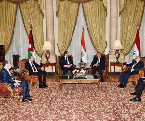 اجتماع سُداسي بالقاهرة لوزراء خارجية ورؤساء مخابرات مصر والأردن والعراق