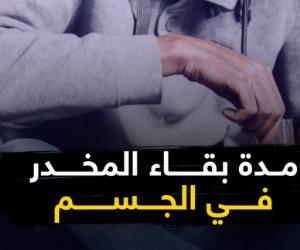 مش كل المخدرات بتطلع.. تعرف على مدة بقاء «المخدر» فى الجسم