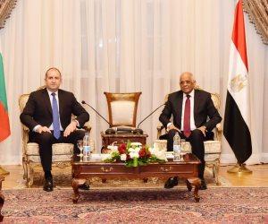 رئيس جمهورية بلغاريا: مصر صمام الأمان والاستقرار والتوازن لمنطقة الشرق الأوسط (صور)