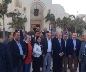 محافظ جنوب سيناء لوفد برلمانى: الكل شال إيده من هنا ماعدا رئيس الجمهورية (صور)