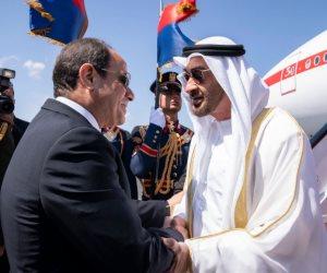 «القاهرة يجب أن تظل قوية».. كيف تناولت الصحف الإماراتية زيارة ولى عهد أبو ظبى لمصر؟