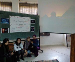 استعدادا لساعة الأرض.. مؤسسة شباب بتحب مصر تقيم ورشة توعية في جامعة قناة السويس