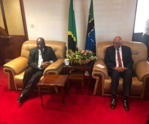 ٧ رسائل مهمة من «عبد العال» لرئيس الجمعية الوطنية التنزانية ورئيس الوزراء التنزانى (صور)