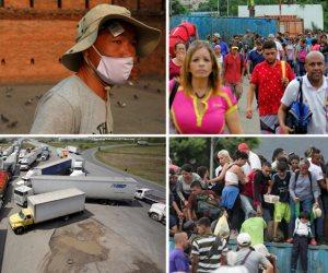 جولة في صحف العالم.. فرار الآلاف من فنزويلا إلى كولومبيا أبرزها