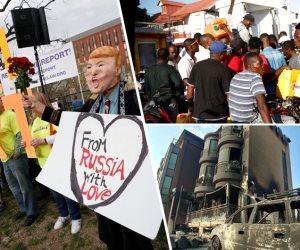 العالم هذا الصباح: النيران تلتهم كوريا الجنوبية.. وتظاهرات ضد مولر أمام البيت الأبيض