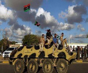 مليشيا السراج تفشل في معركة الوطية.. وتتكبد خسائر فادحة على يد الجيش الليبي