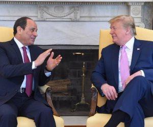 السيسى: زيارتى لأمريكا مثمرة على كافة المستويات وسعدت بلقاء الرئيس ترامب