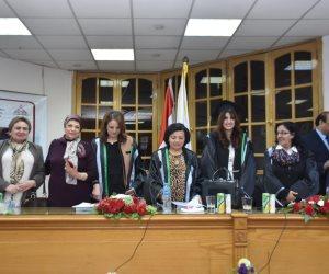 الزميلة نورهان فتحي تحصل على درجة الماجيستير من جامعة عين شمس
