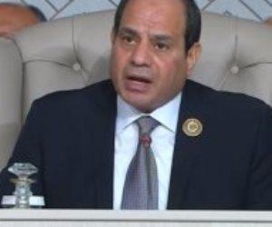 الرئيس السيسى يصل القاهرة بعد جولة خارجية