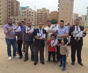 الجالية المصرية بالكويت تنظم حملة «عشانك يامصر» لدعم التعديلات الدستورية