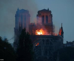 سر عدم سقوط «نوتردام» الفرنسية بالكامل في «حريق الكاتدرائية»