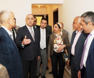 وزير الإسكان في جولة بالشيخ زايد.. تفقد مشروعي JANNA والحديقة المركزية بالمدينة