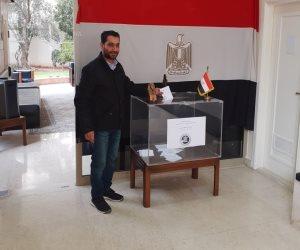 مع بدء التصويت على التعديلات الدستورية.. المصريون يتوافدون على السفارة المصرية في لبنان
