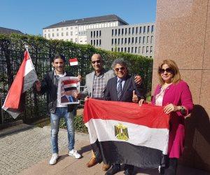 سفارة مصر بألمانيا تفتح أبوابها أمام الجالية المصرية للتصويت على التعديلات الدستورية