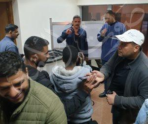 أمير كرارة يدلي بصوته في التعديلات الدستورية في الإسكندرية