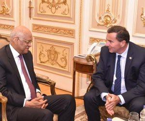 رئيس البرلمان يطالب السيناتور الفرنسي بزيادة عدد المنح الدراسية للمصريين (التفاصيل)