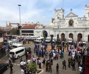 انفجار جديد قرب إحدى الكنائس فى العاصمة السريلانكية