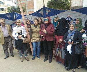 حزب الحرية المصري يحشد للمشاركة في التعديلات الدستورية (صور)