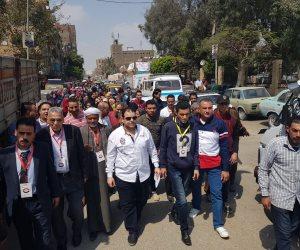 مسيرات شعبية تجوب جنوب سيناء دعما للدستور  (صور )