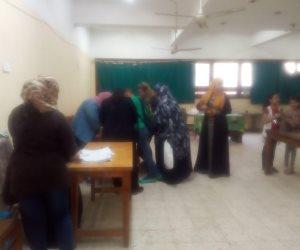 استمرار إقبال أهالي شبرا على صناديق الاستفتاء في يومه الثالث