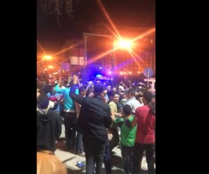 بعد الموافقة على التعديلات الدستورية.. المصريون يحتفلون في ميدان التحرير (فيديو)