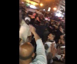 بعد الموافقة على التعديلات الدستورية.. المصريون يحتفلون في ميدان الأوبرا (فيديو)