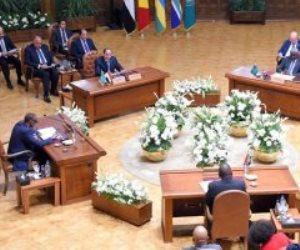 البيان الختامى لقمة ليبيا التشاورية بالقاهرة يطالب بوقف فورى وغير مشروط لإطلاق النار