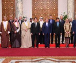 كل ما دار في اجتماع الرئيس السيسي بوزراء الشباب العرب (فيديو)