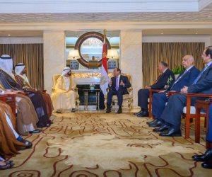 محمد بن راشد: نتابع باهتمام التطورات الاقتصادية التي يقودها السيسي في أكبر دول المنطقة