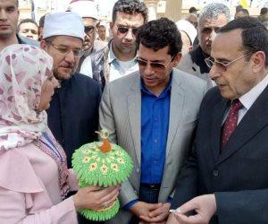 وزير الأوقاف والرياضة يشاركان في احتفالات أعياد سيناء (صور وفيديو)