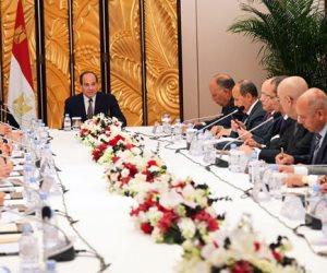 ملخص اللقاء.. ماذا دار على طاولة مباحثات السيسي ومجلس الأعمال الصيني؟