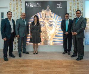 رانيا المشاط تلتقي مدونين روجوا للسياحة المصرية على مواقع التواصل الاجتماعى الخليجية