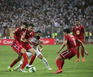 """الزمالك يكتفى بهدف فى مرمى النجم الساحلى وينتظر مباراة العودة بتونس """"فيديو"""""""