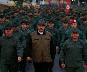 رئيس فنزويلا يفتح النار على أنصار زعيم المعارضة ويصفهم بـ «الخونة».. ماذا قال؟